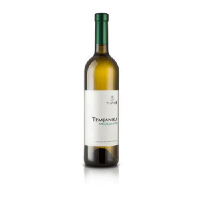 Temjanika witte wijn tikves tjament